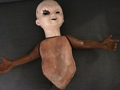 Chucky Life Size Parts Rubber Arms, Torso, Head Good Guy Doll Damaged Discolored