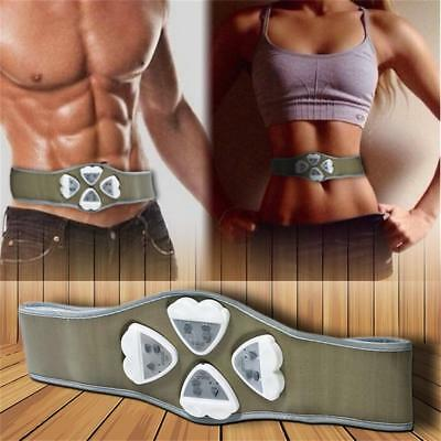 AB Gymnic Gymnastic Body Building ABS Belt Exercise Toning Muscle Fat Loss #G