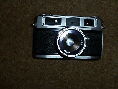 VINTAGE RANK ALDIS 35mm FILM CAMERA WITH CASE