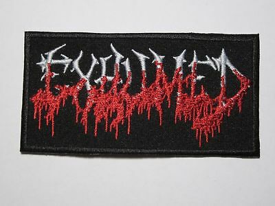 EXHUMED logo embroidered NEW patch