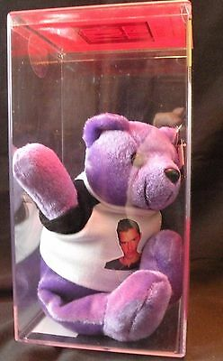 Ricky Martin Purple Rare Bears 'Livin' La Vida Loca' in Bear Keeper