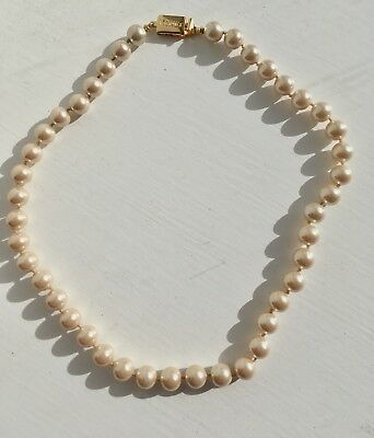 Napier Pearl Necklace Pearls Costume