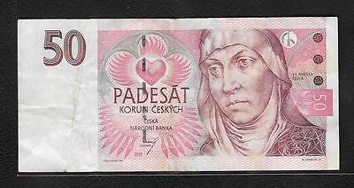 Czech Republic  Fifty  Padesat  (#B 39 )