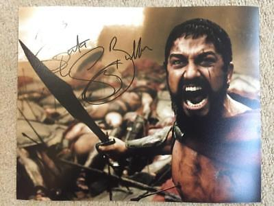Gerard Butler, 300, This Is Sparta! 10x8 Signed Authentic Autograph Photo COA
