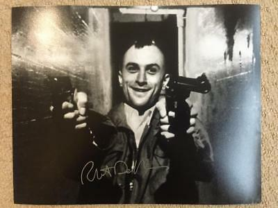 Robert De Niro, Taxi Driver, 10x8 Signed Authentic Autograph Photo COA