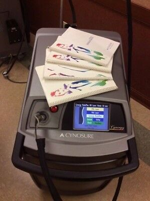 2006 Cynosure Cynergy with Multiplex w/3mm, 5mm, 7mm, 10mm, 12mm, 15mm Handpiece