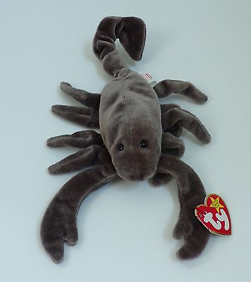 RARE RETIRED STINGER Original Ty Beanie Baby Hang Tag