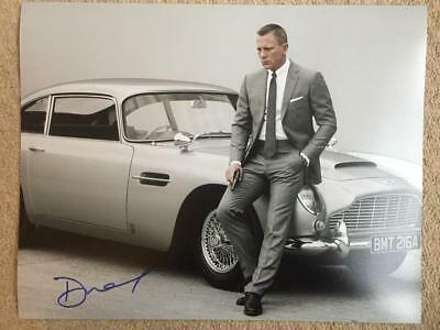 Daniel Craig, James Bond, 007 11x14 Signed Authentic Autograph Photo COA