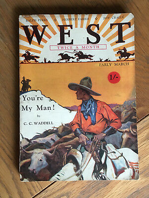 West - British World's Work Pulp - Early March 1929 - Waddell, Farris etc