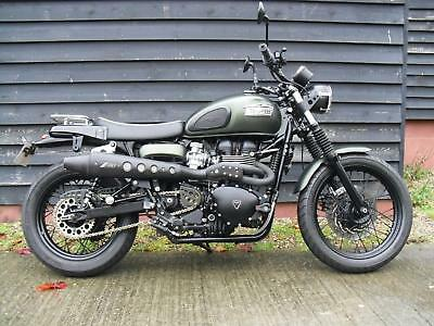 Triumph BONNEVILLE SCRAMBLER WITH MANY EXTRAS