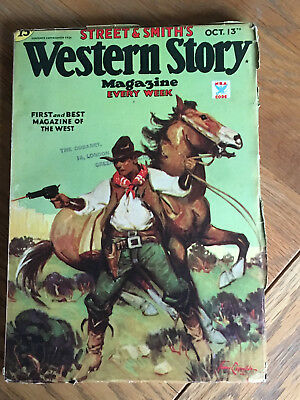 Western Story Magazine - October 13th 1934 - Carlos St. Clair