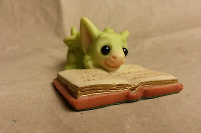 """Pocket Dragon Ornament, Collectable - """"Favourite Book"""" Mint Condition 2004"""
