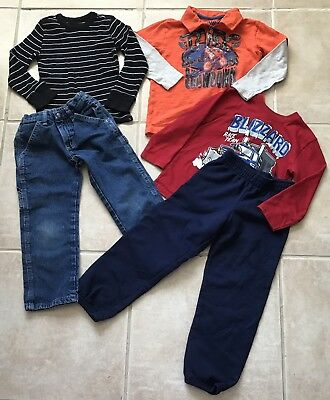 Lot of Boys Clothes size 5T Fall Winter Cute Nice Outfits Free Shipping