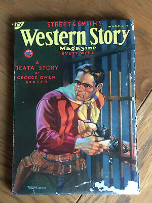 Western Story Magazine - March 17th 1934 - George Own Baxter - A Reata Story