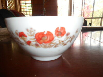Arcopal France  Small Bowl Poppies ?