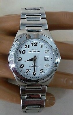 Ben Sherman Youth Watch London Mod Style With Stainless Steel Band