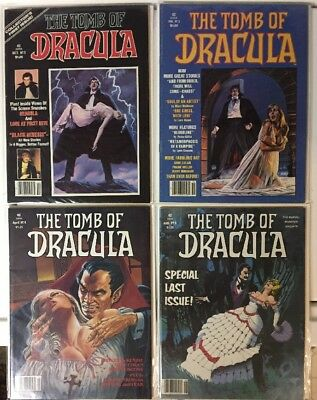 "Oct. 1979 Marvel Monster Group ""The Tomb of Dracula"" Comic Book Magazine Lot"