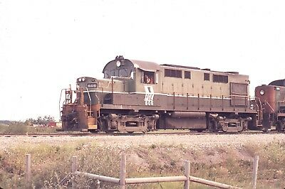 Original Agfachrome Pacific Great Eastern Rs18 # 606 Fort St John , B.c. 1971