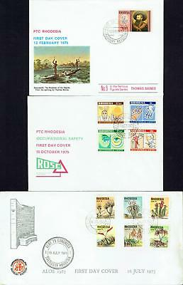 Rhodesia, First Day Covers 1975, USED, FDC606