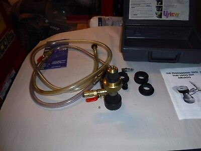 UVIEW Airlift Cooling System Airlock Purge Tool Kit 550000 used