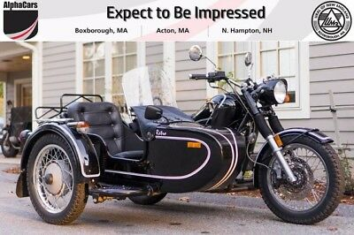 2011 Ural Retro Classic Gloss Black  Like New Reverse Gear Retro Model Financing & Trades