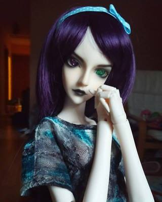 Gorgeous Gothic Resinsoul Mi SD BJD Custom faceup full doll +wig  Jointed Hands