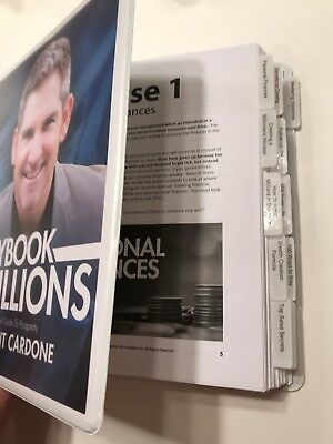 Grant Cardone Playbook To Millions/Mastering Objections/Rebuttal Manual Hardcopy