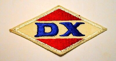 """DX Gasoline Patch Embroidered Oil 4"""" inches"""