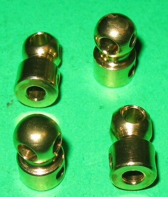 Meccano Compatible Reproduction Parts Handrail Couplings