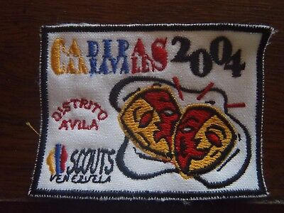 District camp by patrols - Scouts of Venezuela 2004