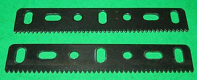 Meccano Compatible Parts Rack Strips 3-1/2""