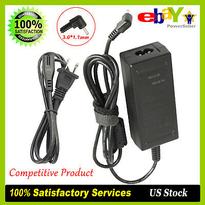 19V 2.1A Charger AC Adapter Power Cord For Samsung Ultrabook 3.0*1.1mm #AD-4019P