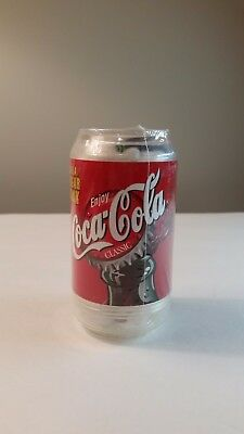 Coca Cola Polar Bear In A Bank Can Sealed Includes 75 Cents From 2002