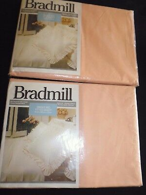 vintage linen Single bed sheets- as new