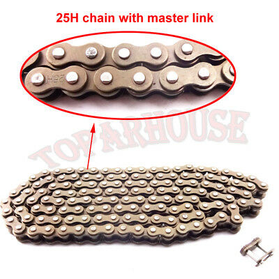ATV 25H Chain With Spare Master Link For 47 49cc Mini Dirt Pocket Bike Mini Moto