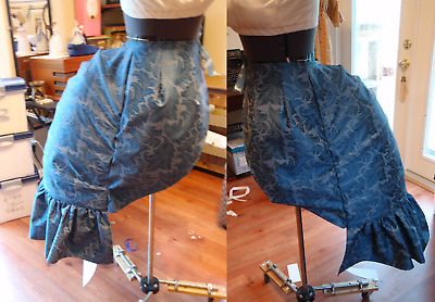 "Victorian Bustle - Accordion ""Lobster"" Style. Made to Fit. Choose Fabric"