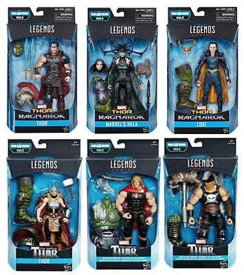 Marvel Legends Thor Ragnarok Series Baf Gladiator Hulk Complete Set Of 6