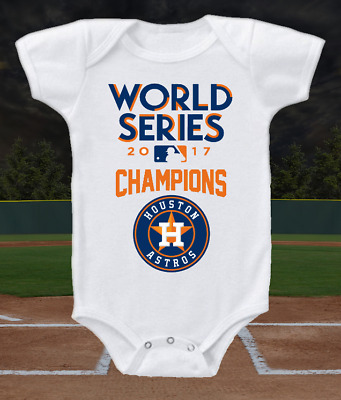 Houston Astros 2017 World Series Champions Baby Onesie or T-shirt
