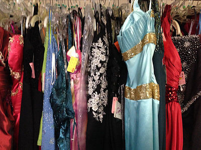 LOT of 6 PROM PAGEANT HOMECOMING CRUISE FORMAL DRESSES SIZE 14-16 NWT $1200 VALU