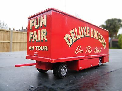 Code 3 Model Trailer . Funfair , Circus , Fairground , Showmans .