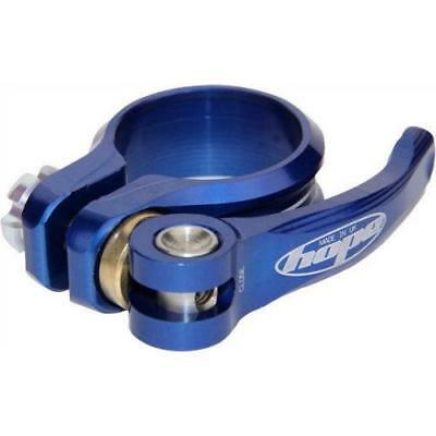 Hope QR Seat Post Clamp Blue, 31.8mm
