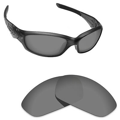Newest Replacement Lenses for-Oakley Straight Jacket 2007 Sport Black Polarized