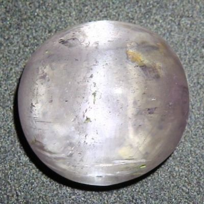 7.060Ct Unique Very Rare Unbelievable Royal Pink Kunzite Cat's Eye Huge Oval Cab