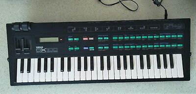 Vintage DX-100 Digital FM Synthesizer w/ Power Pack & Manual - baby of DX-7