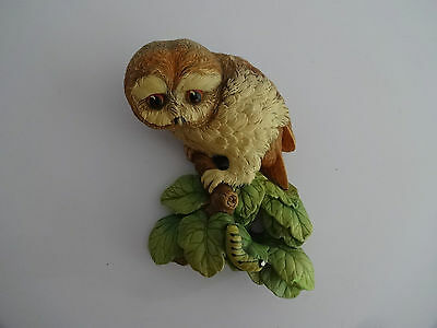 "Vintage Bossons Chalkware Figure Head -Owletl-8.5"" high-Wild Life Series"