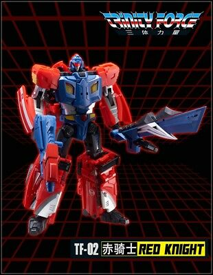 Transformers toy TFC TF-02 Red Knight Trinity Force action figure New instock