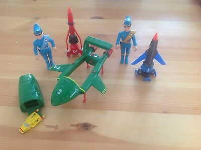 Thunderbird Figures Matchbox 1992