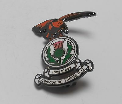 Inverness Caledonian Thistle Fc - Enamel Crest Badge