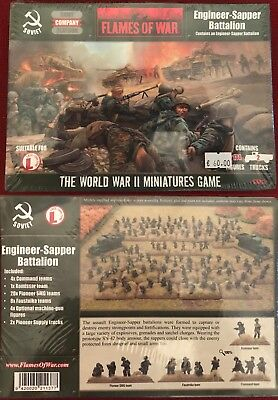 Flames of War SBX13 - engineer sapper battalion (metal)