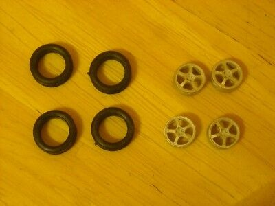 """5 spoke alloy wheels  pack of 4 suitable for cars with 16"""" wheels"""
